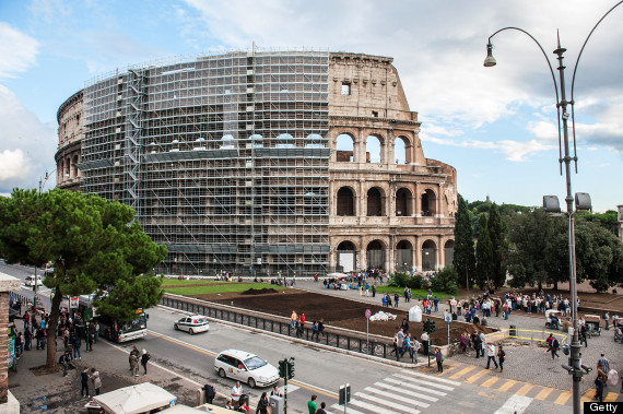 Colosseum under Restoration, Fall 2013